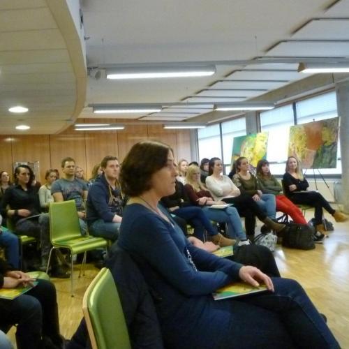Gastcollege Haagse Hogeschool